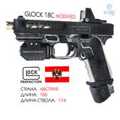 Glock18C modified