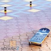 Sidewalk Tiles 2 / Тротуарная Плитка 2