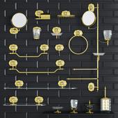 Аксессуары для ванной Lineatre Margherita