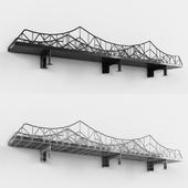 Suspension Bridge Shelf
