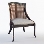 Antoine Cane Back Dining Chair