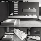 Bathroom furniture set Panta Rel