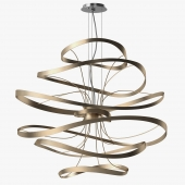 Corbett lighting - Calligraphy pendant