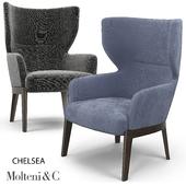Chelsea armchair Molteni