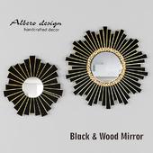 зеркало Black & Wood