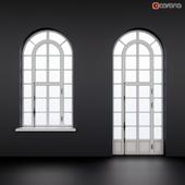 Арочная витрина