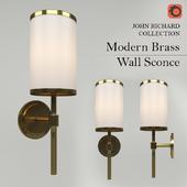 JOHN RICHARD COLLECTION - Modern Brass Wall Sconce (AJC-8909)