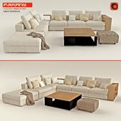 "Sofa ""FLEXFORM Groundpiece"" set"