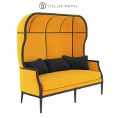 Stellar Works Laval Crown Chair Two seater
