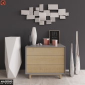 Сommode with decor Maisons du Monde