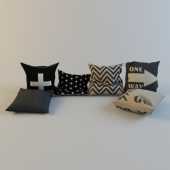 Scandinavian styled pillows