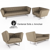 Sunpan - Centenial Sofa & Armchair