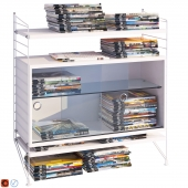 Storage System String System and magazines 113 pcs.