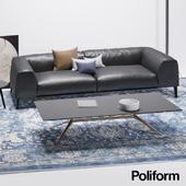 Диван Poliform - Metropolitan; Столик Poliform - Mondrian