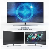 Samsung QLED 4K Curved Smart TV Q8C