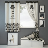 Curtain and decor 2