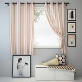 Curtain and decor 3