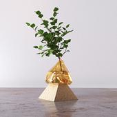 Misshapen Glass Vases by Studio EO