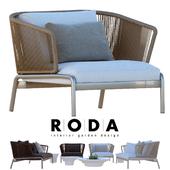 Outdoor furniture RODA SPOOL sofa