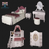 "A collection of children's furniture, ""Marquise"" by CLEVEROOM"