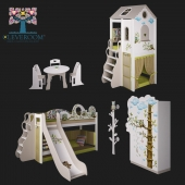 """A collection of children's furniture, """"Owls"""" from CLEVEROOM"""