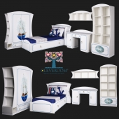 """A collection of children's furniture, """"Regatta"""" by CLEVEROOM"""