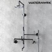 Watermark Exposed Shower