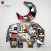bookshelf Elephant