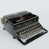Печатная машинка Royal Portable Standard Model O 1936