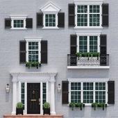 Окна и двери в стиле английской классики 4