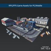 RPG / FPS Game Assets for PC / Mobile (Set v2.0)