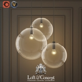HANGING LAMP GLASS BALL CEILING LIGHTS