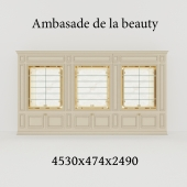 витрина Ambasade de la beauty