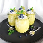 Десерт Lemon Cheesecake