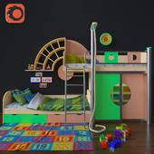 Children's furniture Over the Rainbow