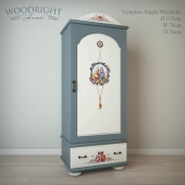 Wardrobe Templars TE-01-2 Woodright