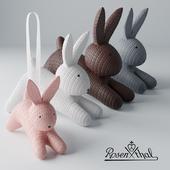 Декоративный набор кроликов