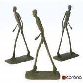 Sculpture - Walking Man