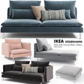 Диваны, кресло, кушетка, пуфик Ikea SODERHAMN