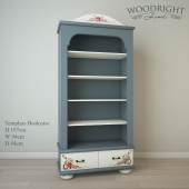 Bookcase Templars TE-62-1 Woodright