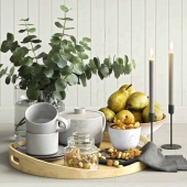 decorative set for the kitchen