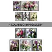 Paintings by Nikolai Blokhin   set 1