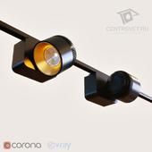 Трековый светильник CentrSvet GUBI TR MINI