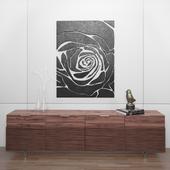Декоративный набор Роза