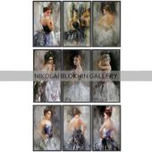 Paintings by Nikolai Blokhin   set 2