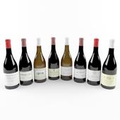Wine Bottle French Bourgogne