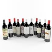 Wine Bottle (Bordeaux)