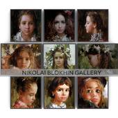 Paintings by Nikolai Blokhin   set 3