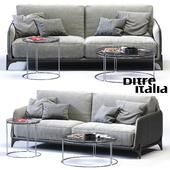 Ditre Italia ELLIOT 3-er Sofa