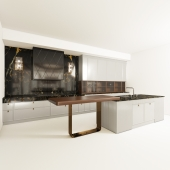 Kitchen CASTAGNA, a series of DECO